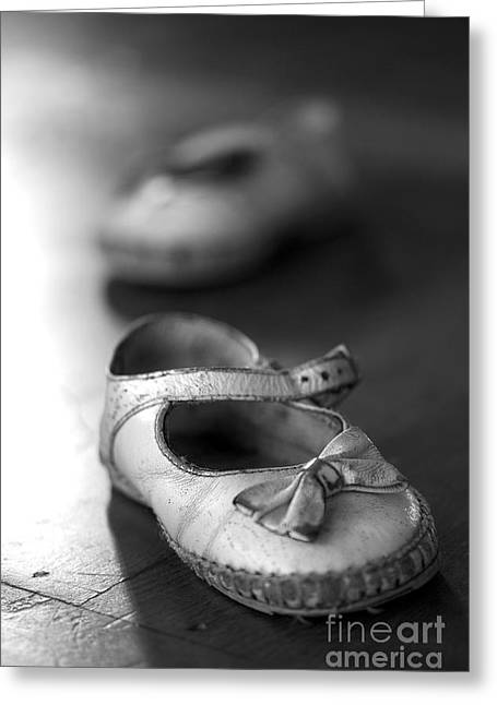 Treasures Greeting Cards - Old shoes Greeting Card by Jane Rix