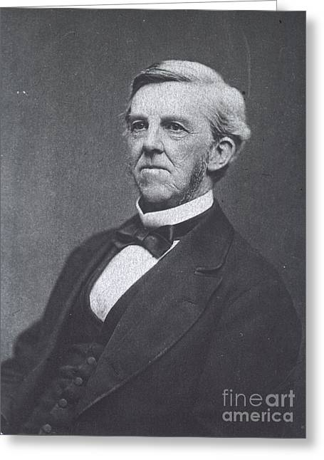 Wendell Greeting Cards - Oliver Wendell Holmes, American Greeting Card by Science Source