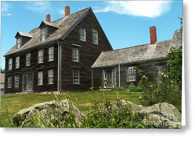 Olson House Greeting Cards - Olson House Greeting Card by Theresa Willingham