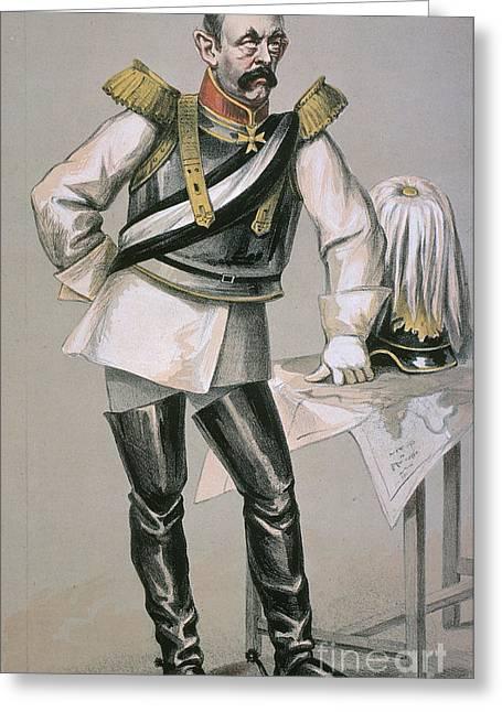 Maltese Greeting Cards - Otto Von Bismarck Greeting Card by Granger