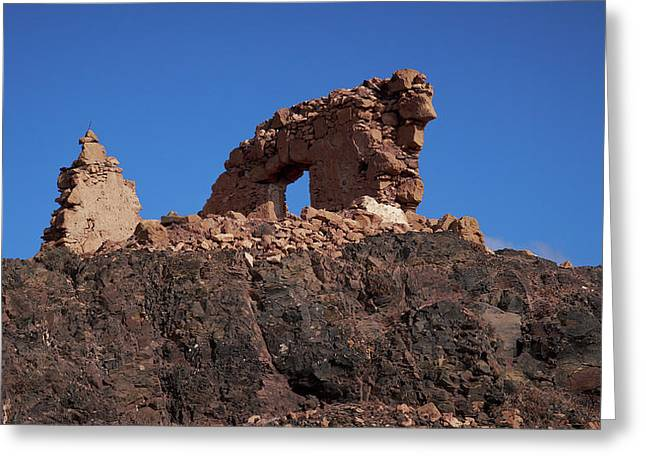 Playa Blanca Greeting Cards - Papagayo ruins Greeting Card by Jouko Lehto