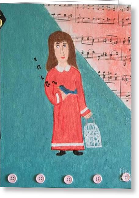 Pardoned Greeting Card by Jeannie Atwater Jordan Allen