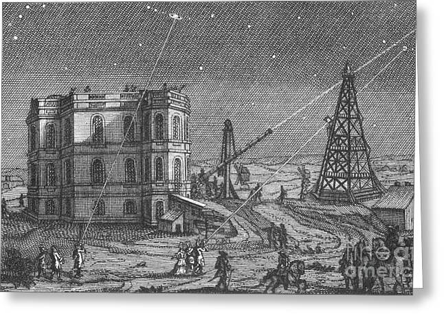 Paris Observatory, 17th Century Greeting Card by Science Source
