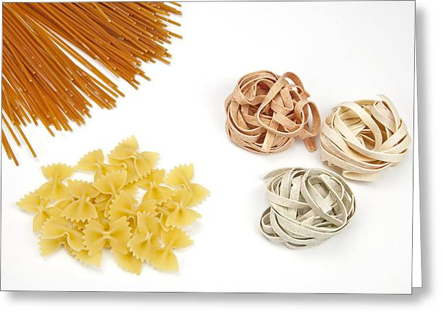 Pasta Greeting Card by Joana Kruse