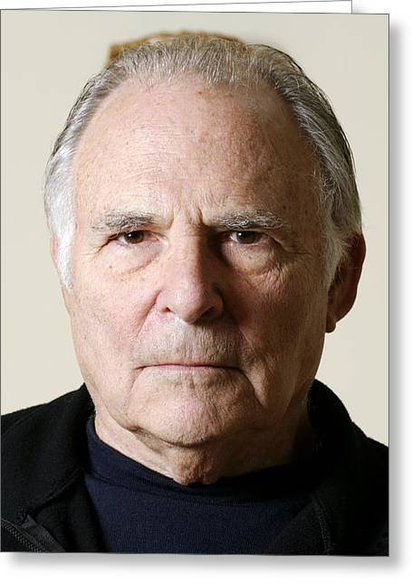 Body Language Greeting Cards - Paul Ekman, American Psychologist Greeting Card by Volker Steger