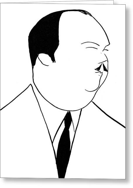 Whiteman Greeting Cards - Paul Whiteman (1890-1967) Greeting Card by Granger