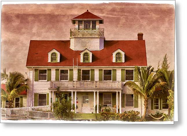 Breezy Photographs Greeting Cards - Peanut Island Greeting Card by Debra and Dave Vanderlaan
