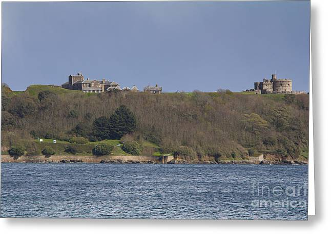 Kernow Greeting Cards - Pendennis Castle  Greeting Card by Brian Roscorla