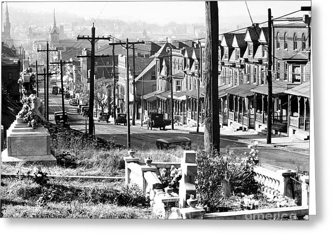 Pennsylvania Photographs Greeting Cards - Pennsylvania: Bethlehem Greeting Card by Granger