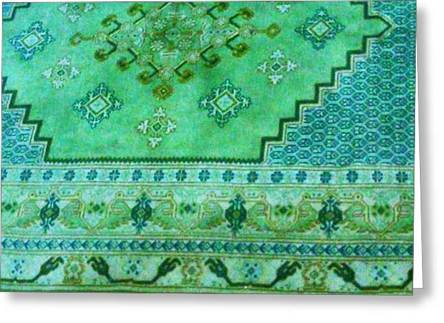 Persian Rug Greeting Card by Unique Consignment