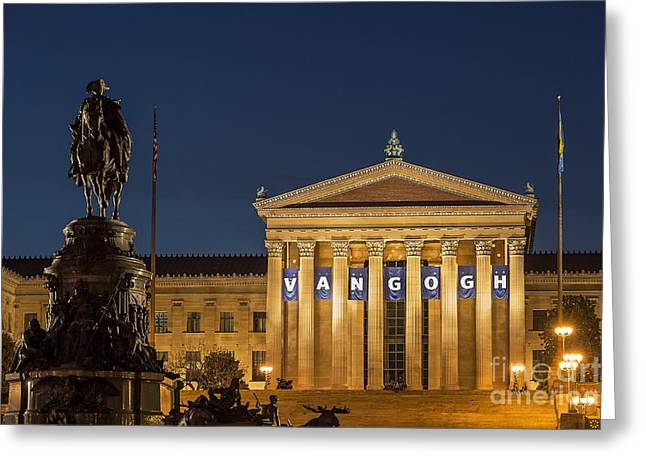 Phillies Art Photographs Greeting Cards - Philadelphia Museum of Art Greeting Card by John Greim