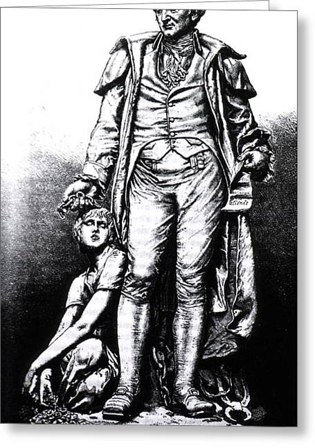 Psychiatry Greeting Cards - Philippe Pinel, French Physician Greeting Card by Science Source