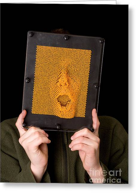 Making Toys Greeting Cards - Pinhead Greeting Card by Ted Kinsman
