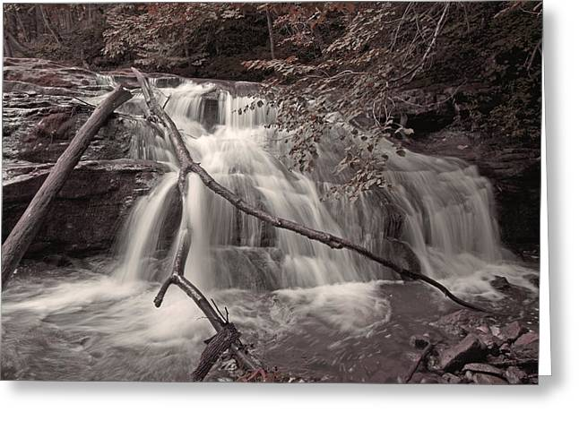 Cedar Creek Greeting Cards - Pinnacle Greeting Card by Betsy C  Knapp