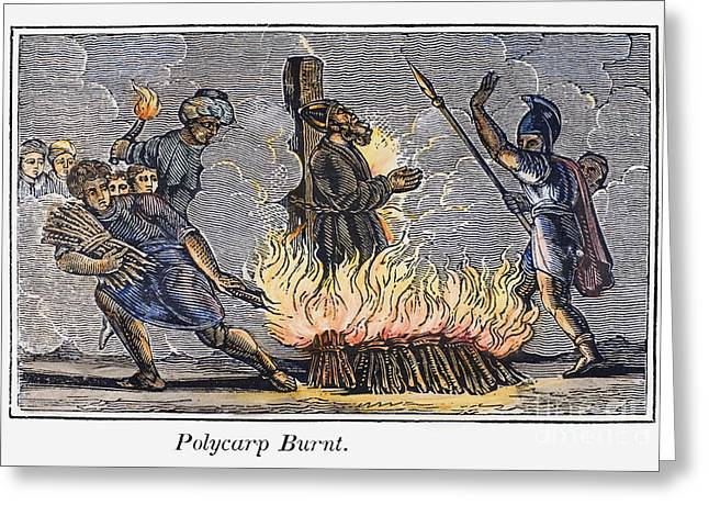 Discrimination Greeting Cards - Polycarp Of Smyrna Greeting Card by Granger