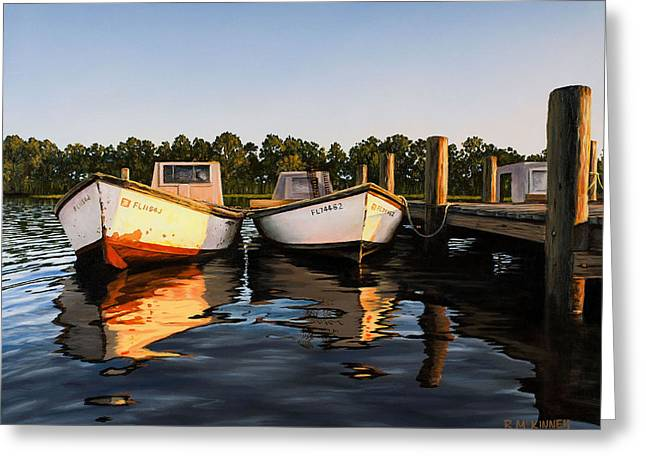 Shrimp Boat Greeting Cards - Prime of Life Greeting Card by Rick McKinney