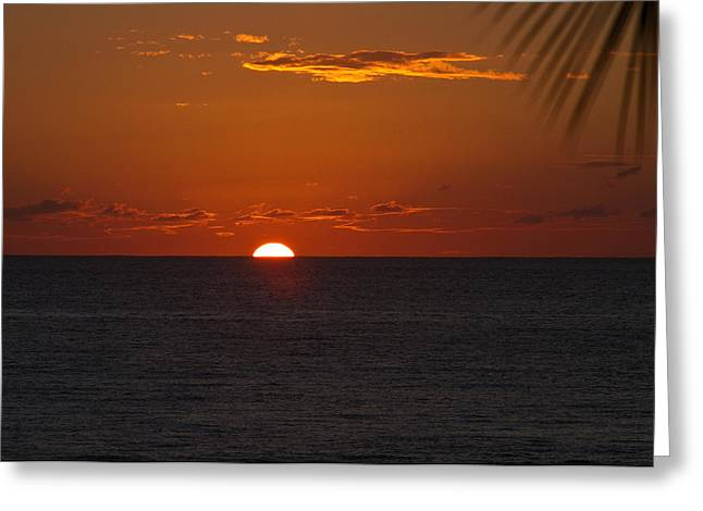 Rincon Greeting Cards - Puerto Rican Sunset III Greeting Card by Tim  Fitzwater
