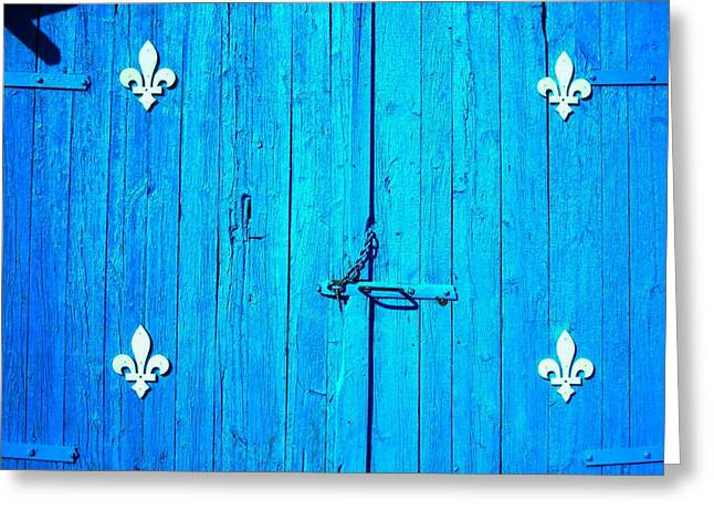 Blau Greeting Cards - Quebec ... Greeting Card by Juergen Weiss