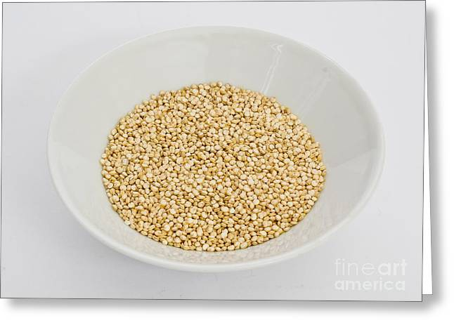 Gluten Free Greeting Cards - Quinoa Greeting Card by Photo Researchers