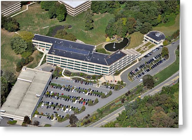 Leasing Greeting Cards - 1 Radnor Corporate Center Strafford PA 19087 Greeting Card by Duncan Pearson