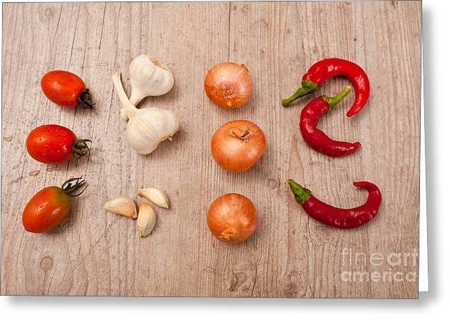 Nutriment Greeting Cards - Raw fresh spices Greeting Card by Sabino Parente