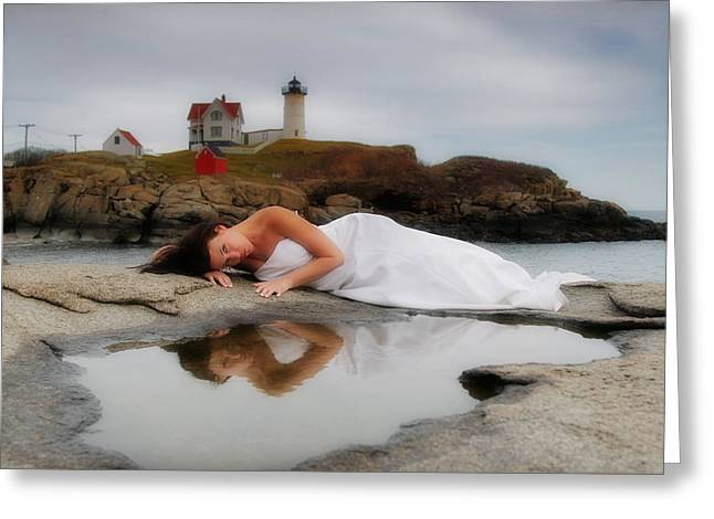 Romance Greeting Cards - Reflections Greeting Card by Rick Berk