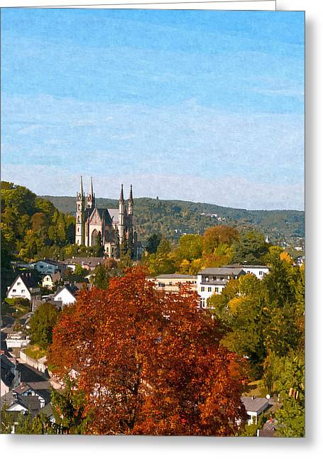 Remagen Greeting Card by Design Windmill
