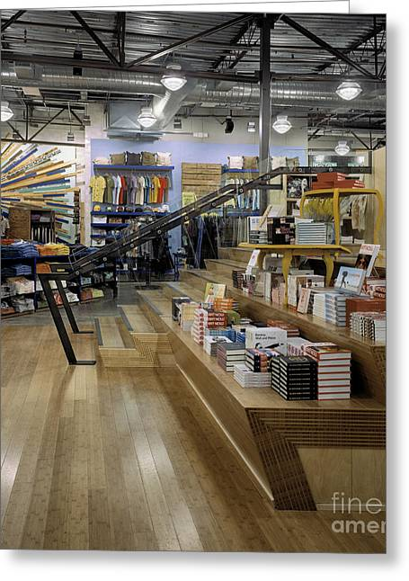 Apparel Greeting Cards - Retail Store Greeting Card by Robert Pisano