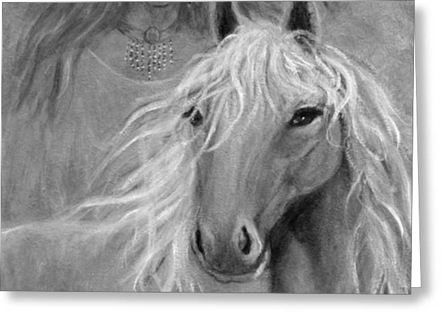 Rhiannon Greeting Card by The Art With A Heart By Charlotte Phillips