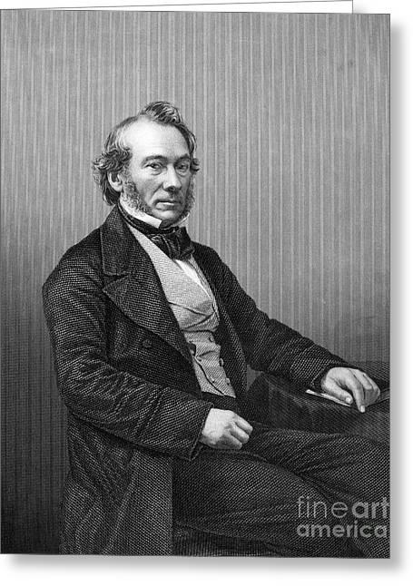 Richard Cobden (1804-1865) Greeting Card by Granger