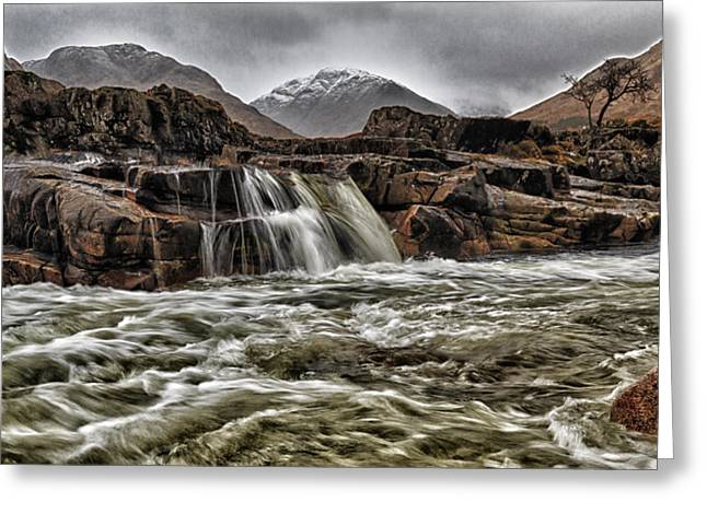 Campbell Clan Greeting Cards - River Etive Greeting Card by Fiona Messenger
