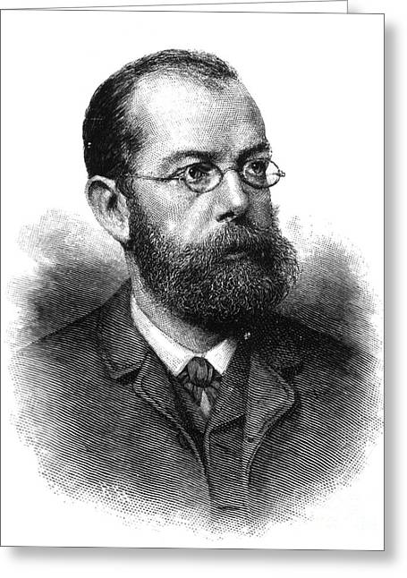 Co-founder Greeting Cards - Robert Koch, German Microbiologist Greeting Card by Science Source