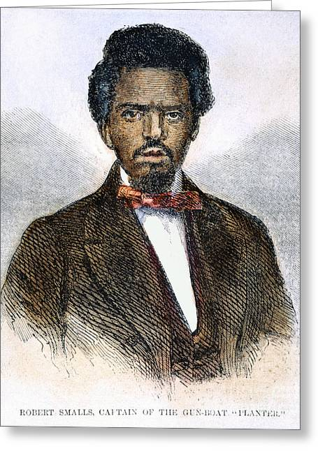 Engraving Greeting Cards - Robert Smalls (1839-1915) Greeting Card by Granger