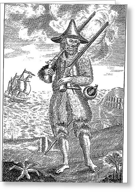 Robinson Crusoe Greeting Card by Granger