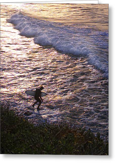 Top Surfer Greeting Cards - Rock Dance Greeting Card by Ron Regalado