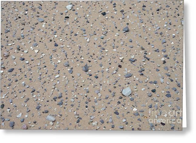 Sand Patterns Greeting Cards - Rocks Sorted By The Wind Greeting Card by Ted Kinsman