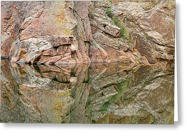 Rocky Mountain Foothills Greeting Cards - Rocky Mountain Reflections Greeting Card by James BO  Insogna