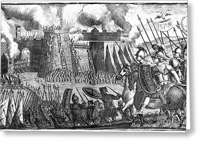 Flavius Greeting Cards - Rome: Siege Of Jerusalem Greeting Card by Granger