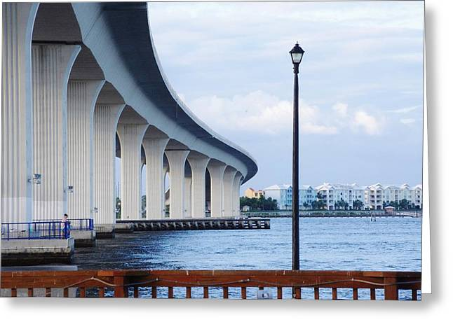 St. Lucie River Greeting Cards - Roosevelt Bridge Greeting Card by Don Youngclaus
