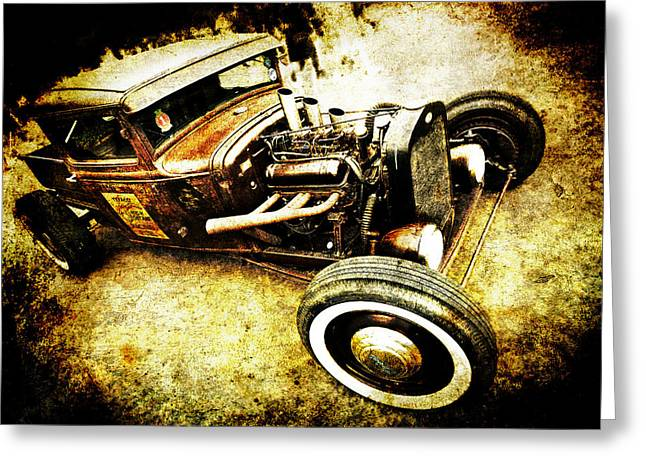 Phil Motography Clark Greeting Cards - Rusty Rod Greeting Card by Phil