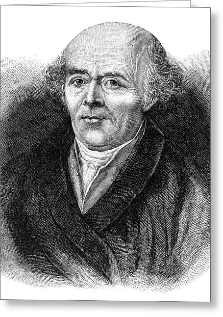 Samuel Greeting Cards - Samuel Hahnemann, German Physician Greeting Card by