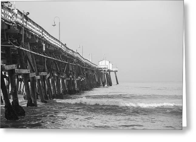 Clemente Greeting Cards - San Clemente Pier Greeting Card by Ralf Kaiser