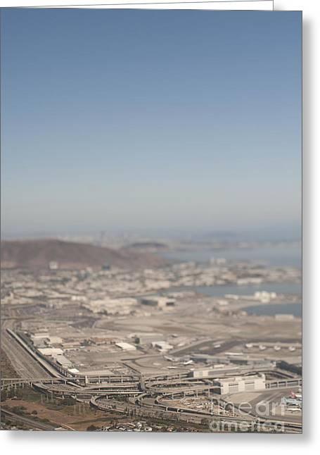 Usa Photographs Greeting Cards - San Francisco International Aiport Greeting Card by Eddy Joaquim