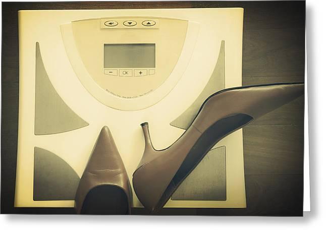 scale Greeting Card by Joana Kruse