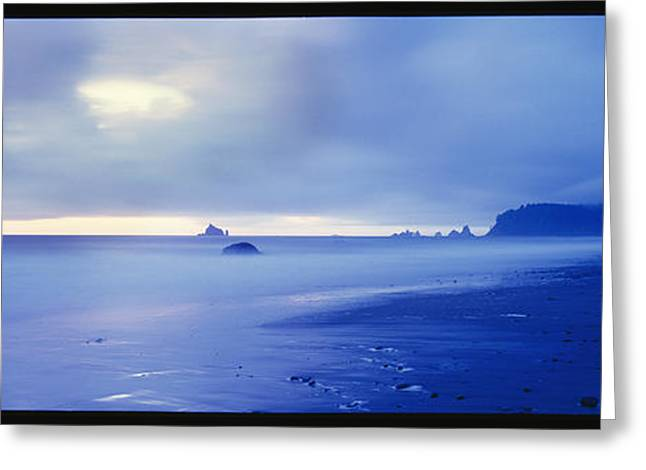 Ocean Vista Greeting Cards - Scenic View Of The Pacific Ocean Greeting Card by Kenneth Garrett