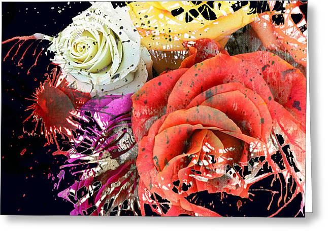 Jerry Cordeiro Photographs Greeting Cards - Seeds Of Splatter Greeting Card by Jerry Cordeiro