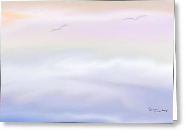 Gina Lee Manley Greeting Cards - Serenity Greeting Card by Gina Lee Manley