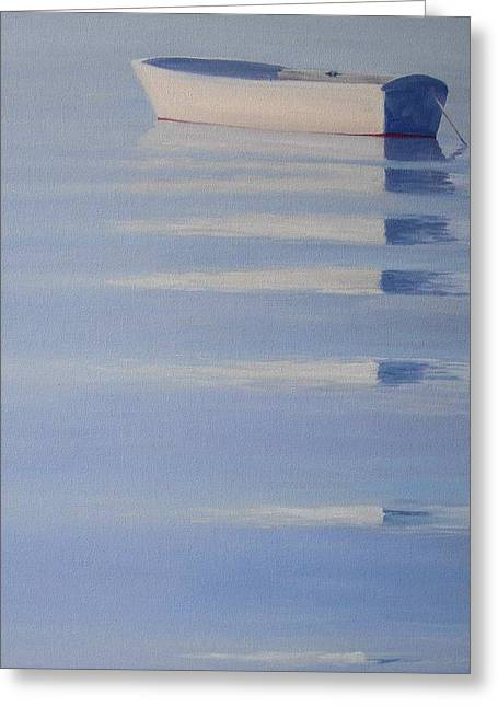 Photo Art Gallery Paintings Greeting Cards - Serenity Greeting Card by Michael Cranford
