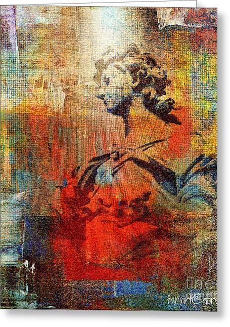 Servant Mixed Media Greeting Cards - Servant of God Not of Mankind Greeting Card by Fania Simon