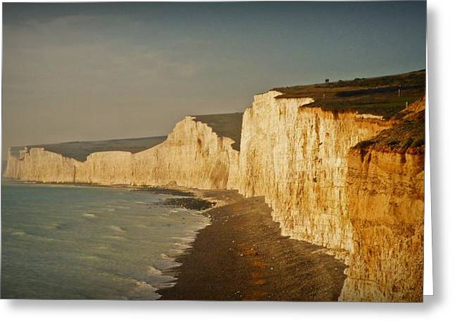 Seven Sisters Greeting Card by Sharon Lisa Clarke